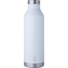 MIZU V8 Insulated Bottle with Stainless Steel Cap 750ml enduro white